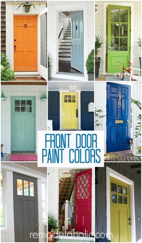 the best paint colors for your front door | front doors and doors