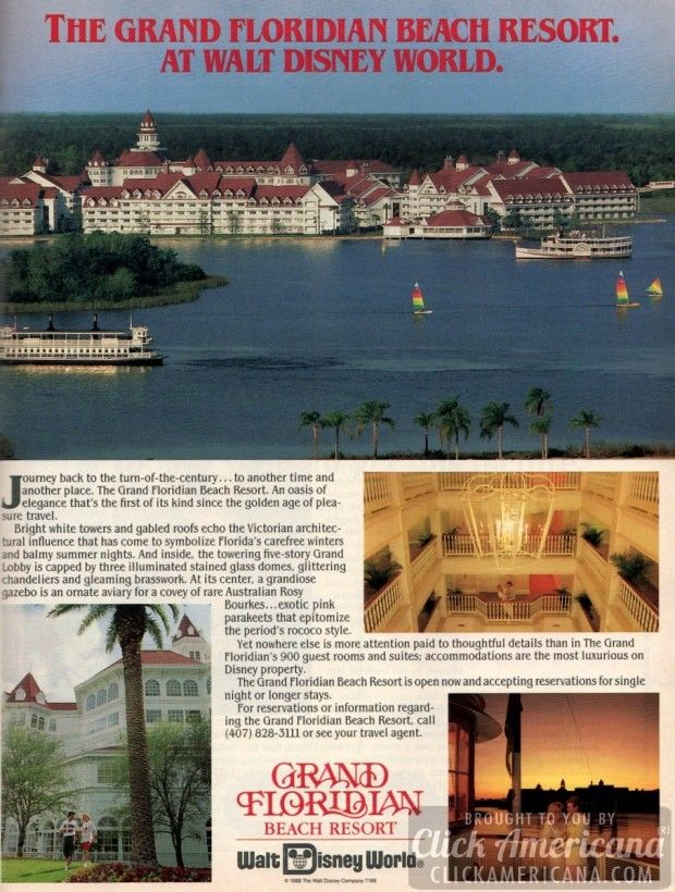Grand Floridian Beach Resort Opens At