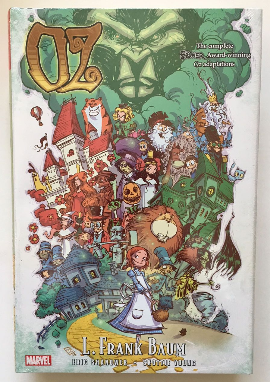 Oz Omnibus L Frank Baum Harcover Hc Skottie Young Skottie Young Glinda The Good Witch The Wonderful Wizard Of Oz