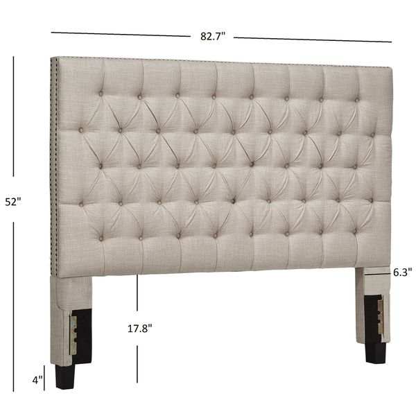 SIGNAL HILLS Knightsbridge Tufted Nailhead Chesterfield King ...