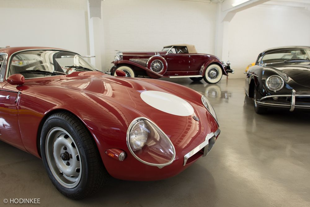 Weekend Report Photo Report Inside Bruce Meyer S Private Garage With Tudor Hodinkee Photo Report Tudor Watch Car Collection