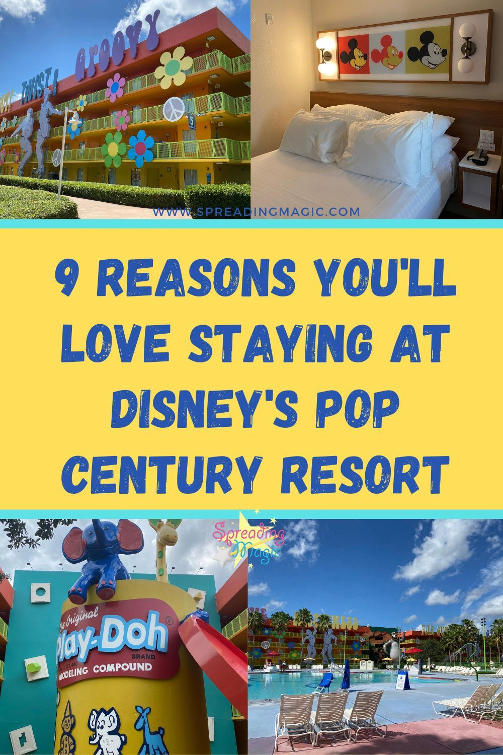 9 Reasons You Will Love Staying At Disney S Pop Century Resort In 2020 Disneys Pop Century Resort Disney World Hotels Disney Resort Reviews