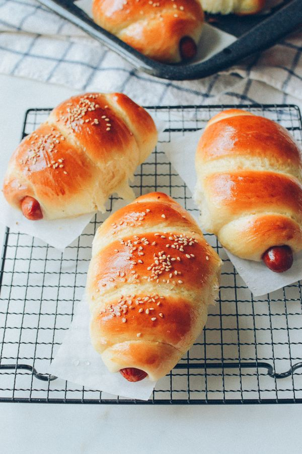 Chinese Hot Dog Buns Recipe Hot Dog Buns Recipe Hot Dog Buns Recipes