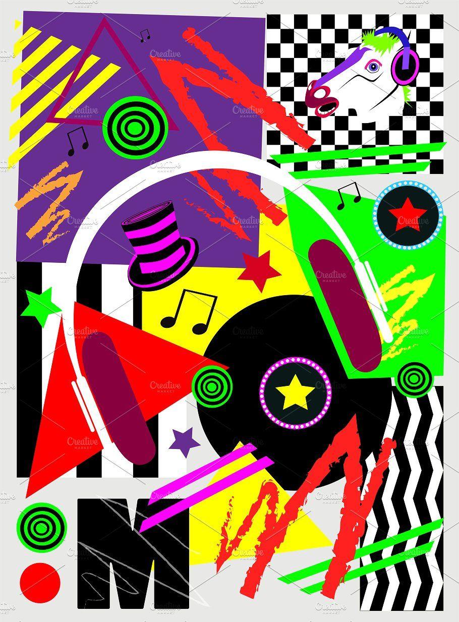 Music Pop Art Background Pop Art Background Art Background Music Backgrounds