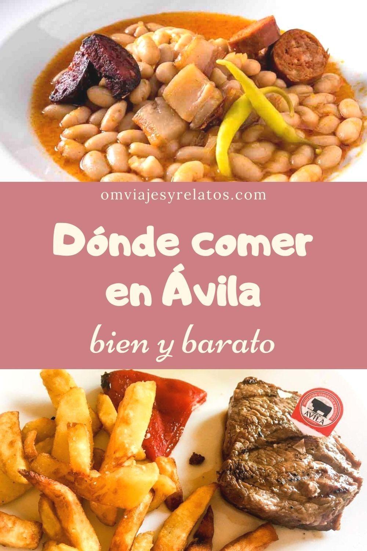 Qué Y Dónde Comer En ávila Bien Y Barato Restaurantes Para Comer Gastronomia Gastronomico