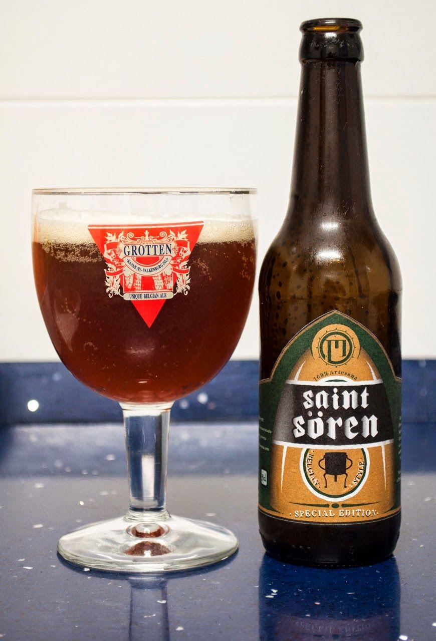 Marbi Saint Sören. Winter Ale. 8.8º