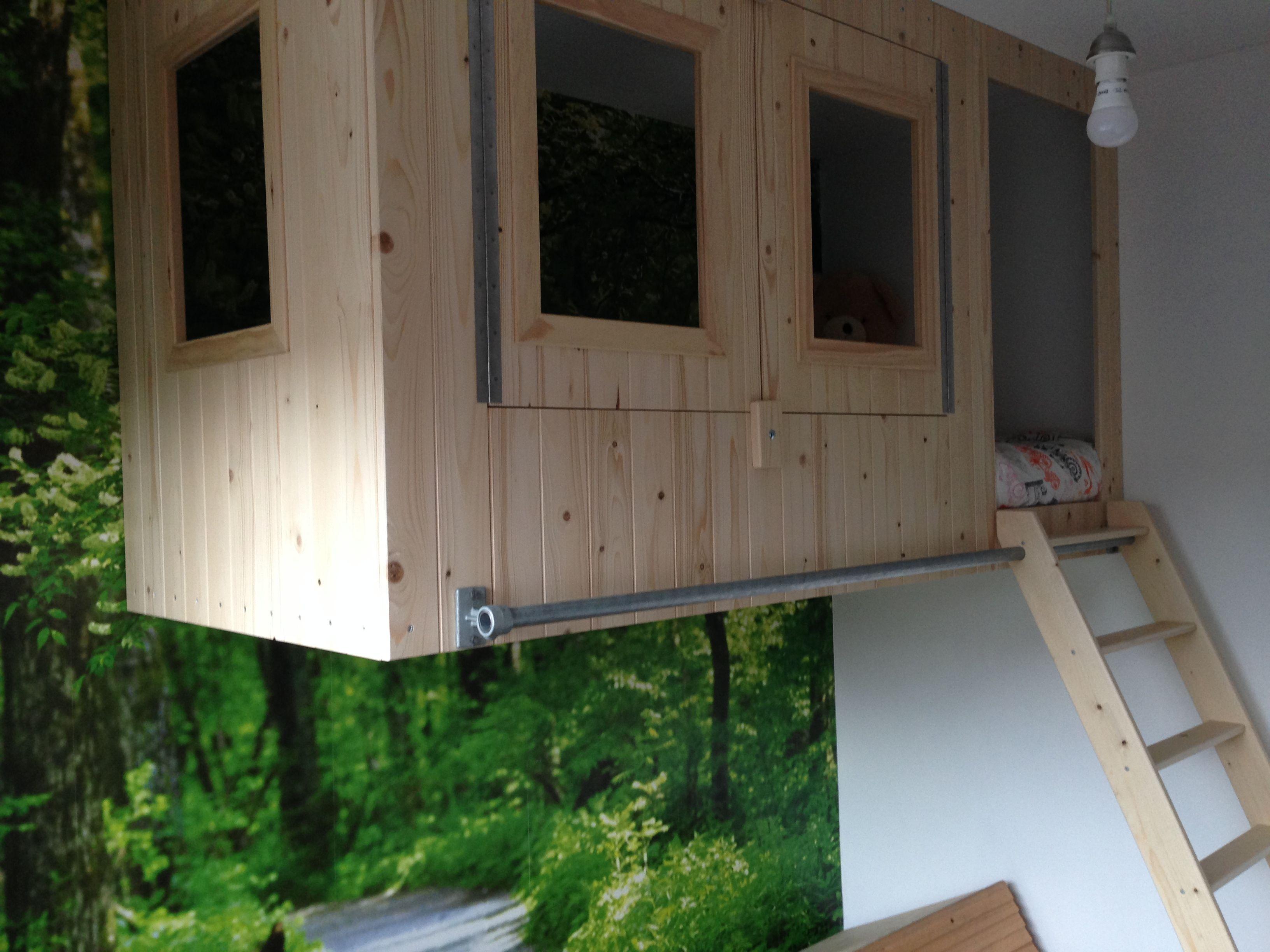 jongens slaapkamer boomhut | Slaapkamer Dex | Pinterest