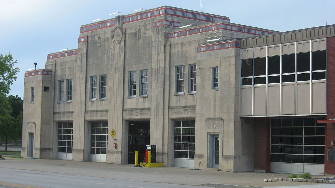 Louisville Fire Department Headquarters, 1135 W. Jefferson
