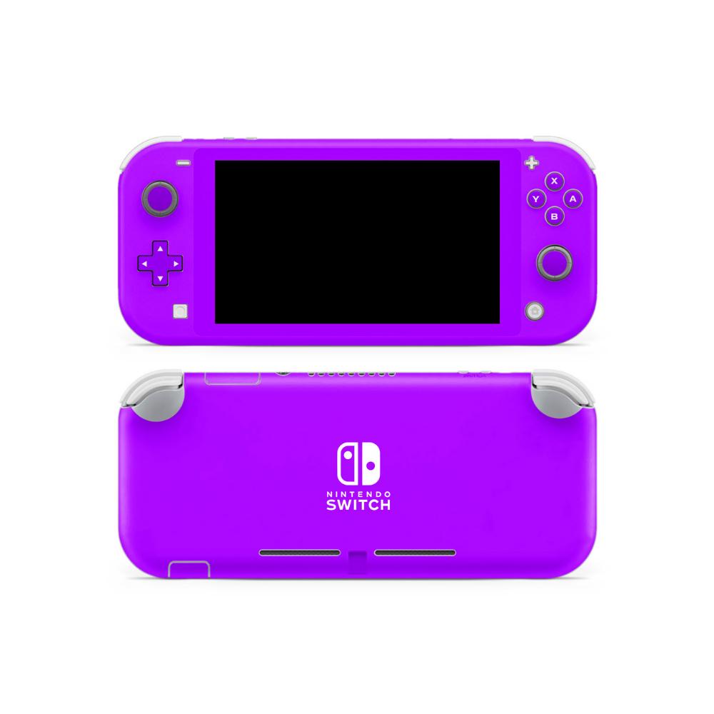Electric Violet Nintendo Switch Lite Skin Nintendo Switch Nintendo Switch