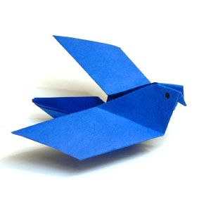 Photo of Origami Tiere falten – Taube