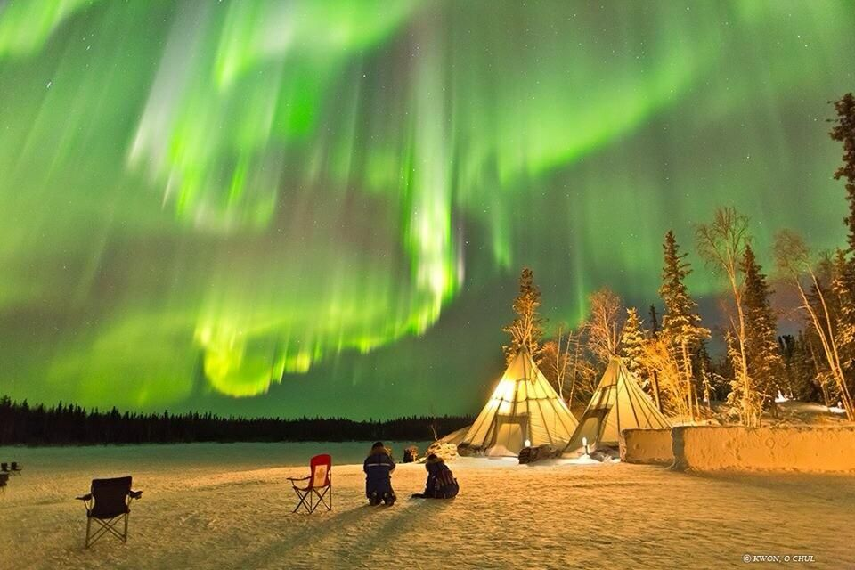 Yellowknife Northern Lights Yellowknife Canada Photography