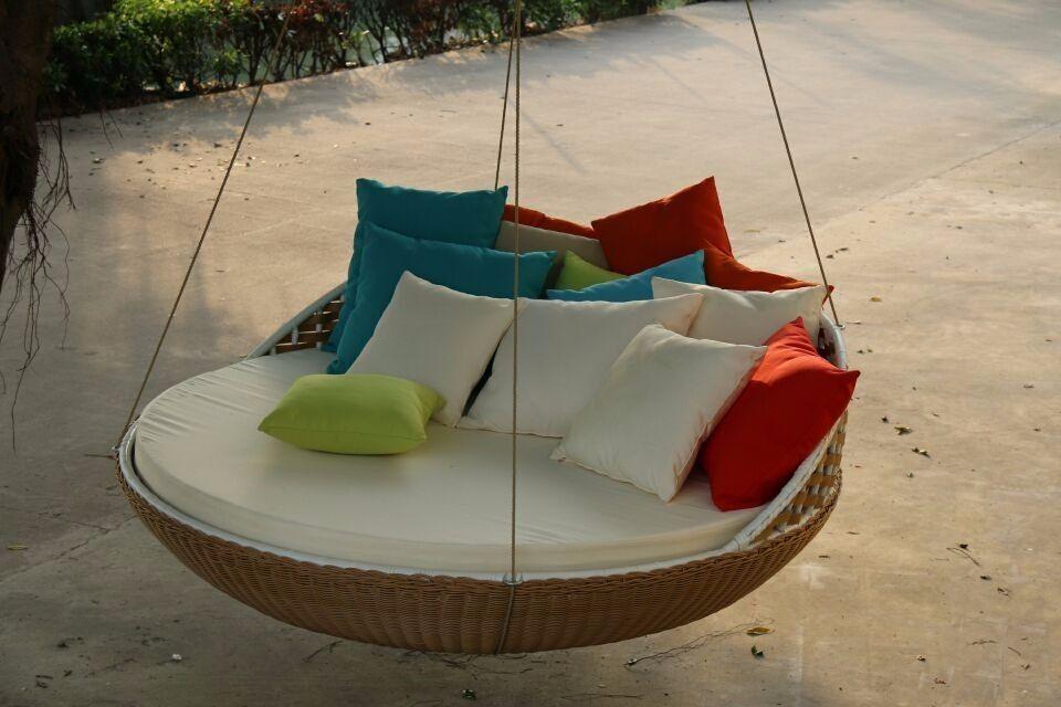 Best Garden Swing Luxury Rattan Hammock Patio Bed Swing For 400 x 300