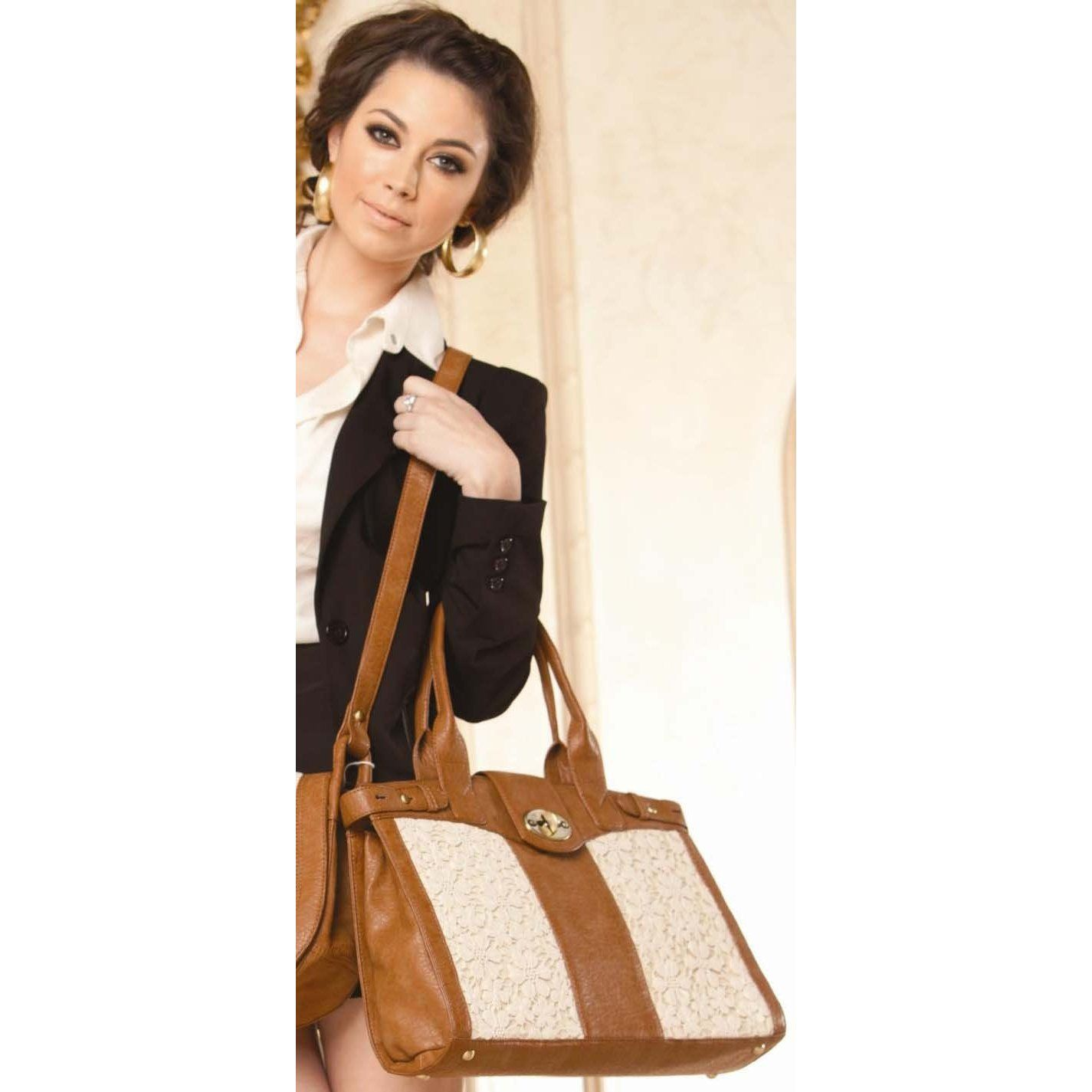 Lace laptop bag. On sale for $89.95
