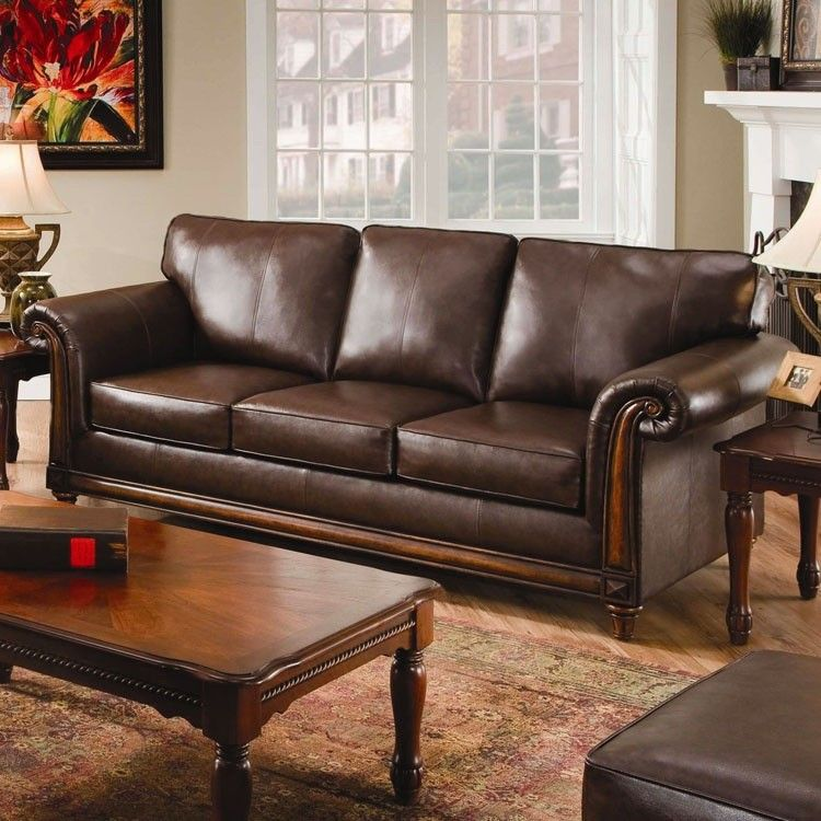 Leather Sofa Beds And Sleepers Upholstery Franklin Hide A Bed Bonded Leather Queen Sleeper