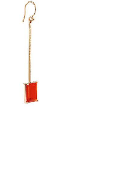 Irene Neuwirth Fire Opal Drop Earring - Earrings - 504773316