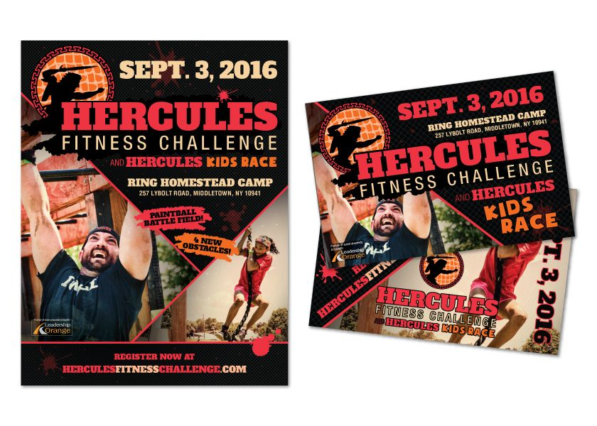 Hercules Fitness Challenge Postcard With Images Workout