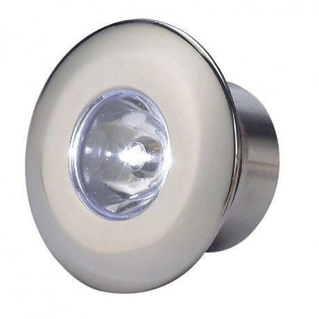 Osculati Spot Led 0 2w Exterieur Eclairage Bleu Ou Blanc Alimentation Electrique 12v Ou 24v Dimensions Voir Schema Op Eclairage Led Spot Led