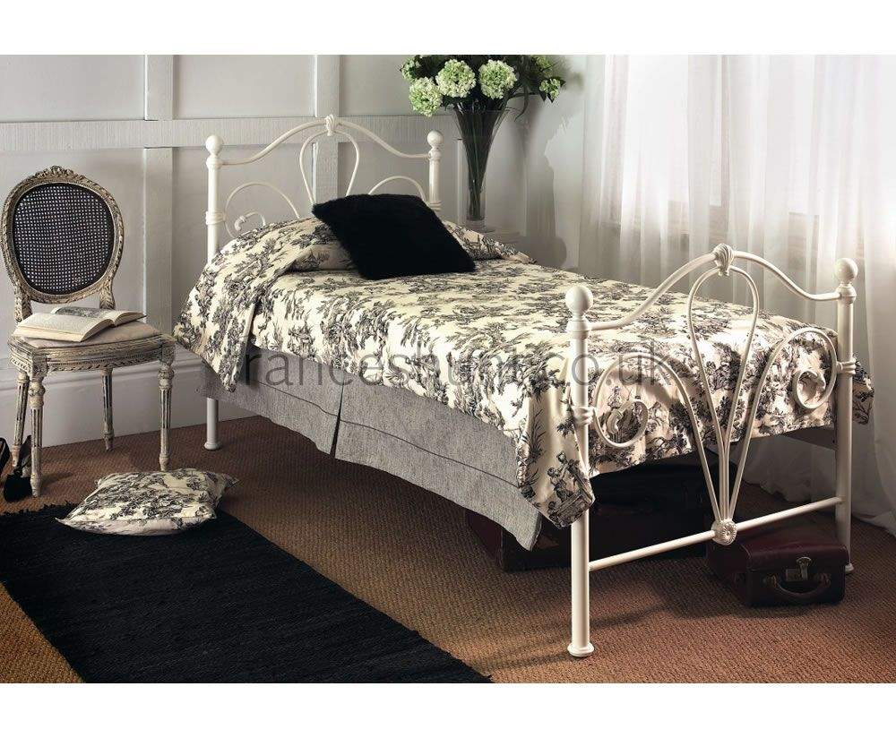 Frances Hunt\'s white single bed #shabby #chic | Shabby Chic Ideas ...