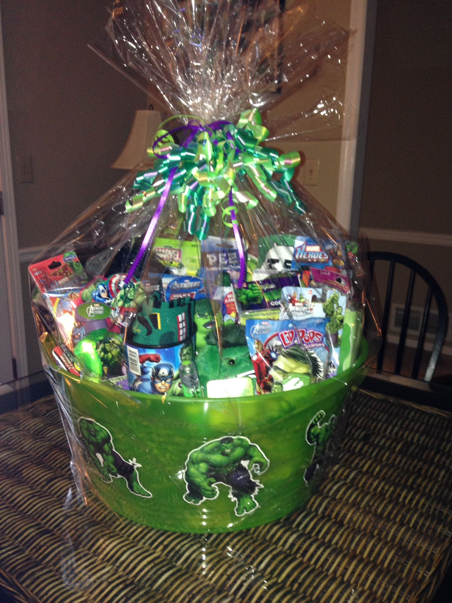 Superhero baskets hulk gift baskets pinterest superhero superhero baskets hulk negle Image collections