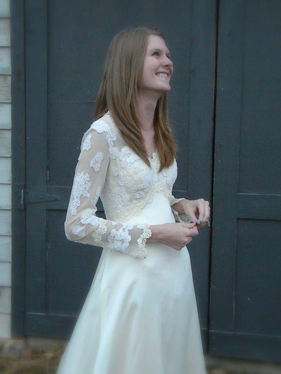 GORGEOUS vintage priscilla of boston wedding dress, only $275 | all ...