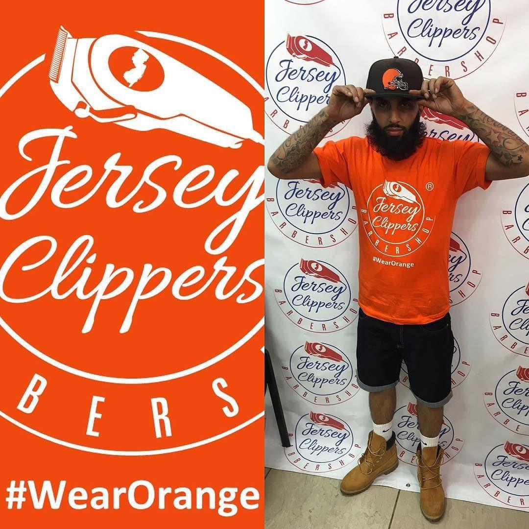 #wearorange #June2 #jerseyclippers #jerseyclippersbarbershop #barber #barbershopconnect #sharpfade #nastybarbers #staysharp @barbeshowcase #june12016 @barbershopplug @barbershopconnect @barbersinctv #jerseycity #jerseycitynj #jersey #jcnj @barbershopconnect @mo5mike