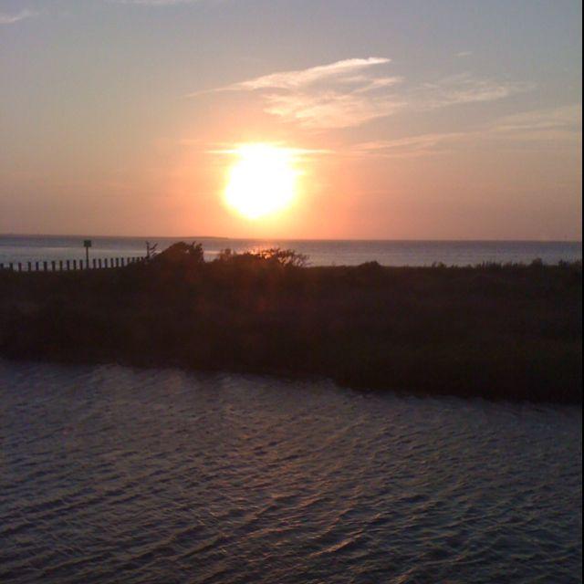 Hatters Island, NC Sunset