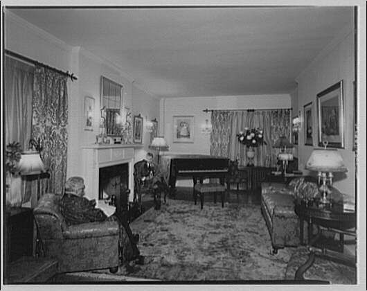 Images of 1950s photos of colonial interiors history for 1920s living room ideas