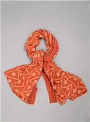 a peace treaty silk scarf