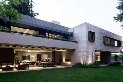 Casa en Vertice Hogar Pinterest Fachadas exteriores Fachadas