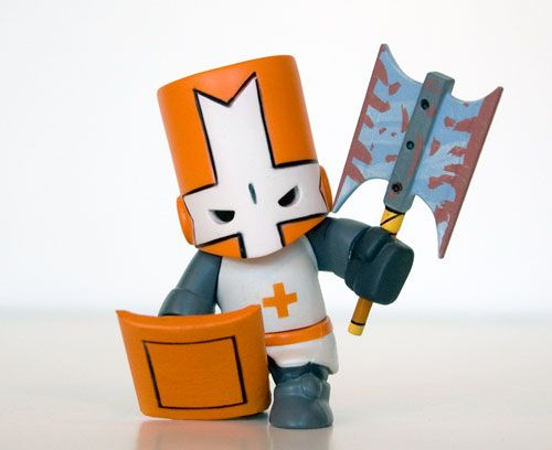 Castle Crashers Orange Knight 20