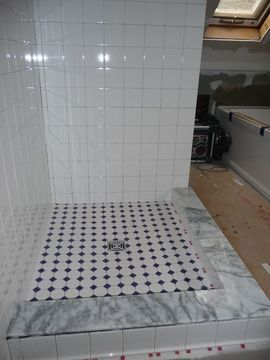 Cost To Install A Ceramic Tile Shower Estimates And Prices At Shower Tile Shower Stall Shower Remodel