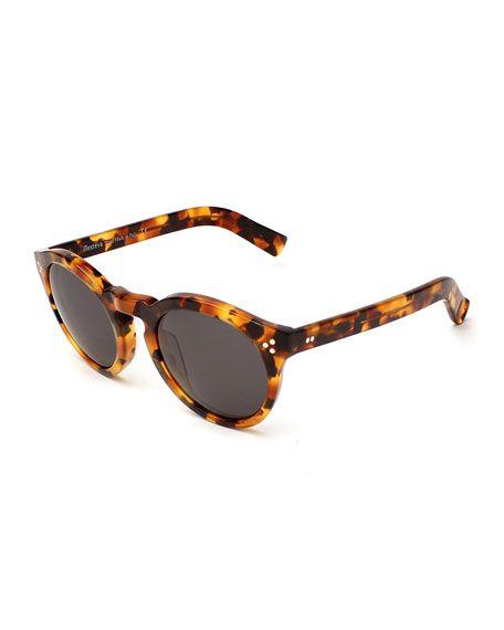 424a905805e ILLESTEVA Leonard Ii Monochromatic Round Sunglasses