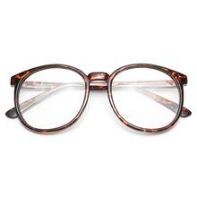 ff6058481f9 Depp Oversized Round Clear Glasses - Tortoise non-prescription clear glasses …