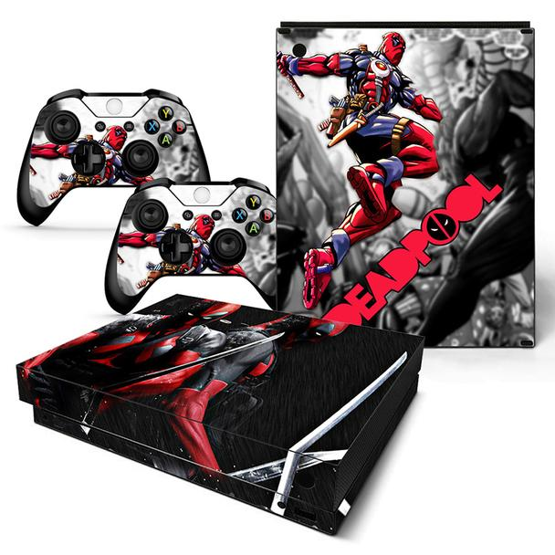 Awesome Marvel Deadpool Back To Back Xbox One X Console