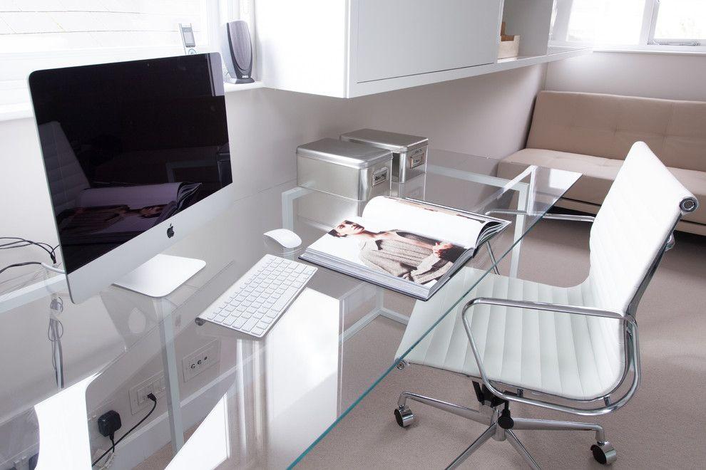 glass office desk home office modern with designer desk glass desk