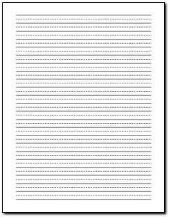 Lined Paper For Handwriting Practice Secondgradesquad Com