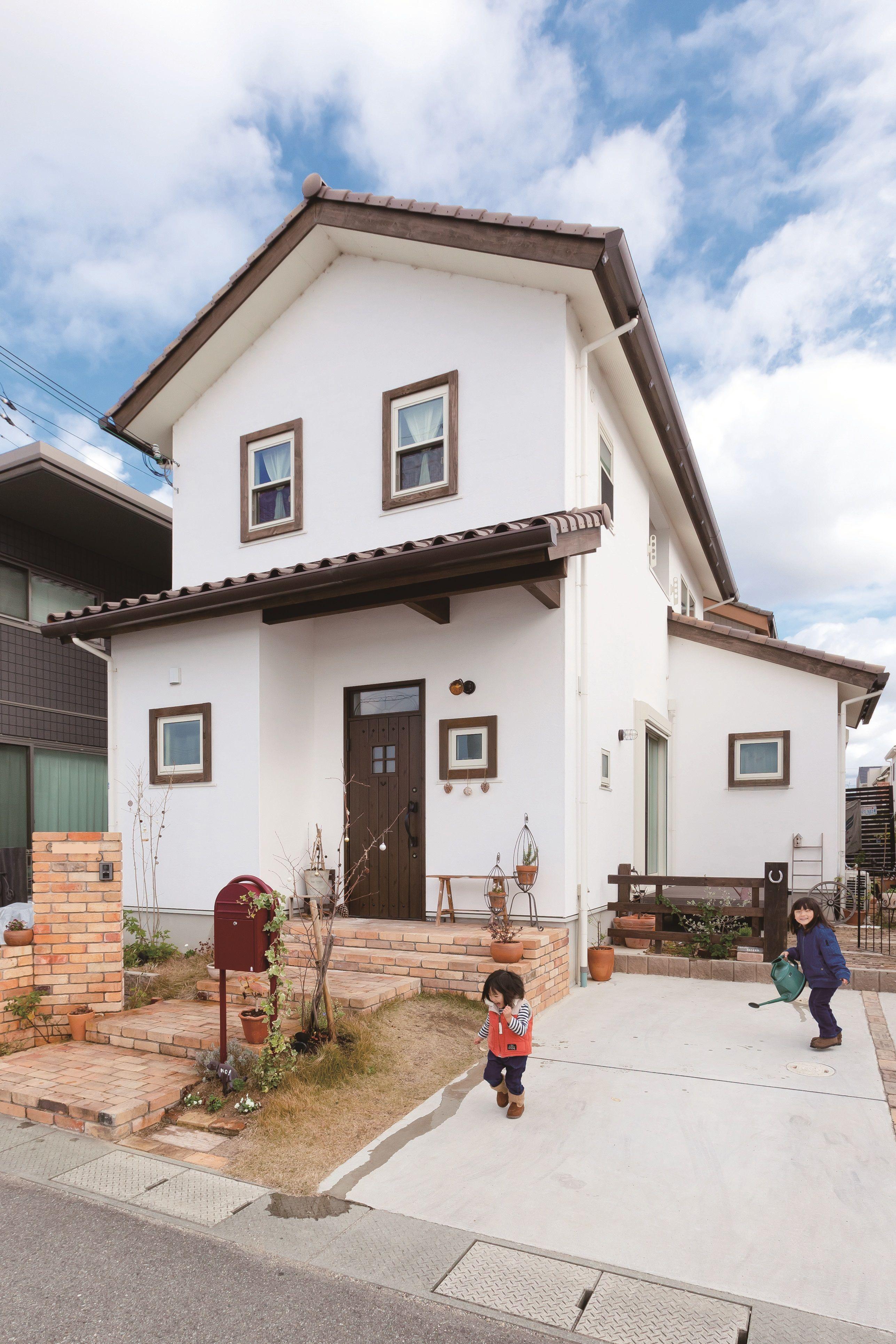 ケース80 ホームウェア スペイン風の家 住宅 外観