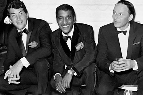 Frank and Sammy Davis JR
