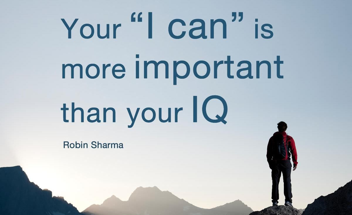 Your I Can Is More Important Than Your Iq The Monk Who Sold