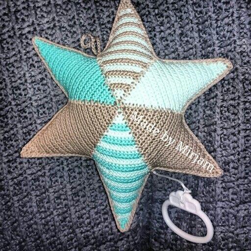 Muziekster Gehaakt Haken En Breien Pinterest Crochet Crochet