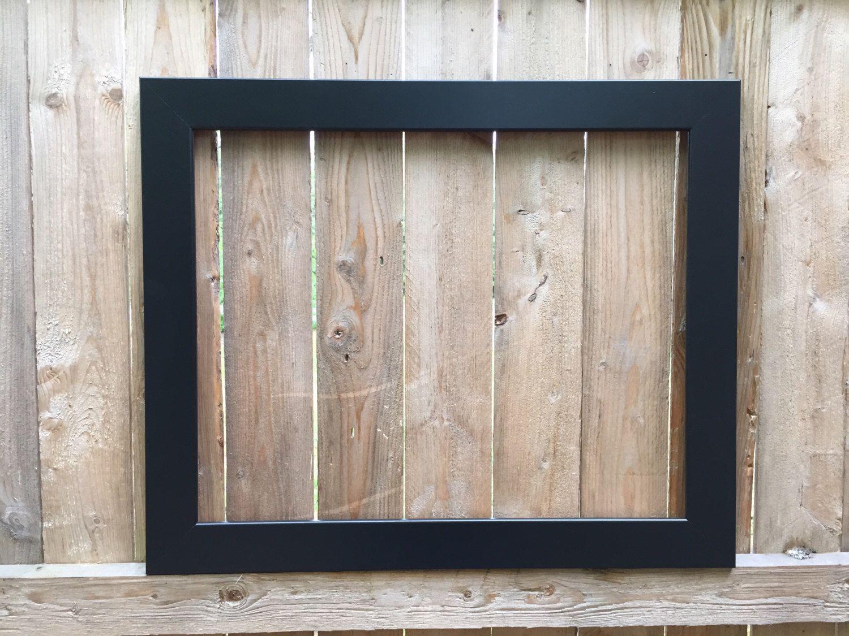 Hand Crafted 16x20 Black Photo Frame, Art Frame, Canvas Frame ...