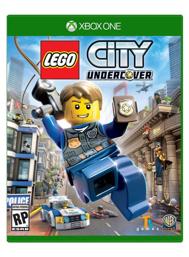 LEGO City Undercover with Exclusive GWP for Xbox One | Vetetoe Boys ...
