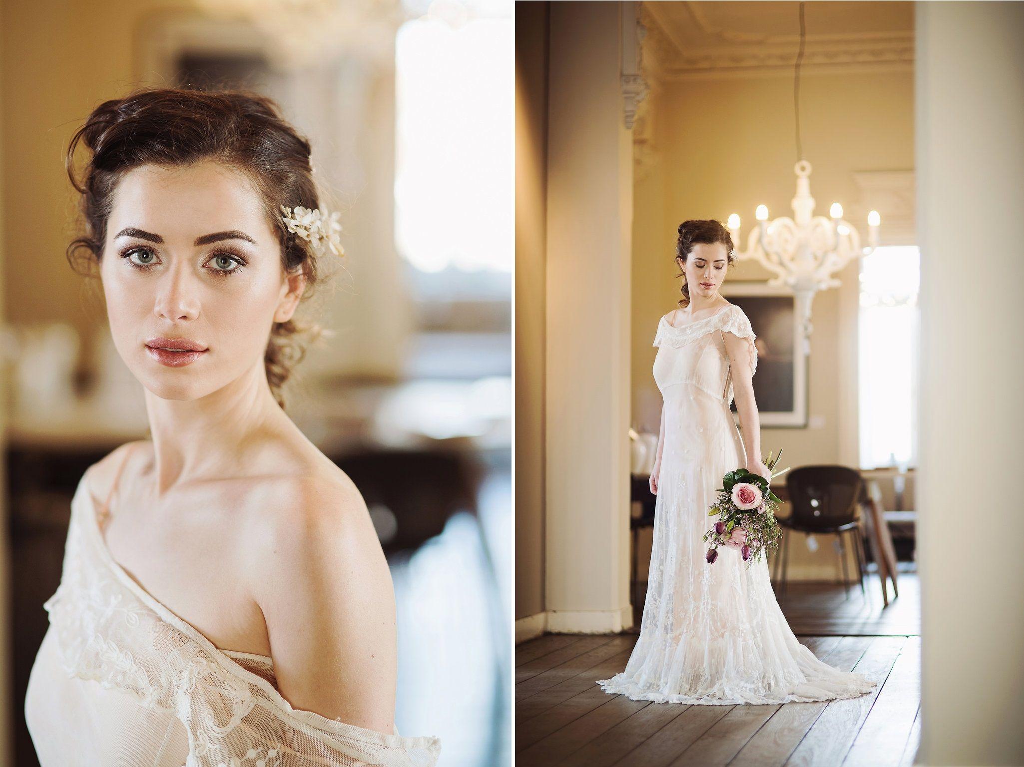 Beautiful Bridal Inspiration with Edwardian Wedding Dresses ...