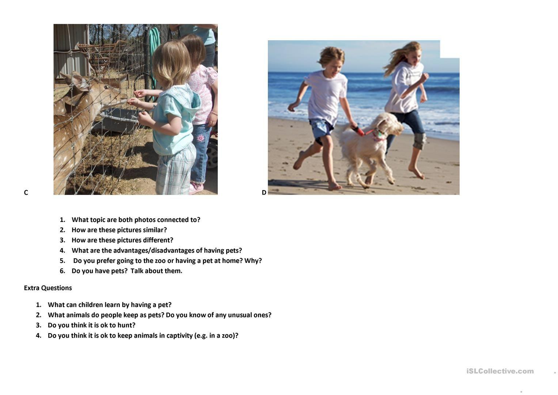 Fce Speaking Practice 1 Worksheet