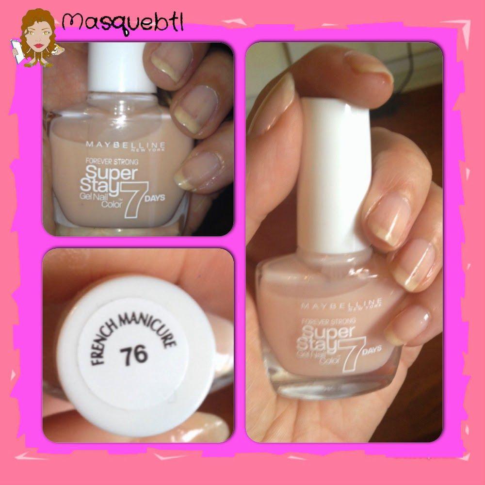 Masquebtl: He probado: Esmaltes de uñas Super Stay Gel Nail 7de ...