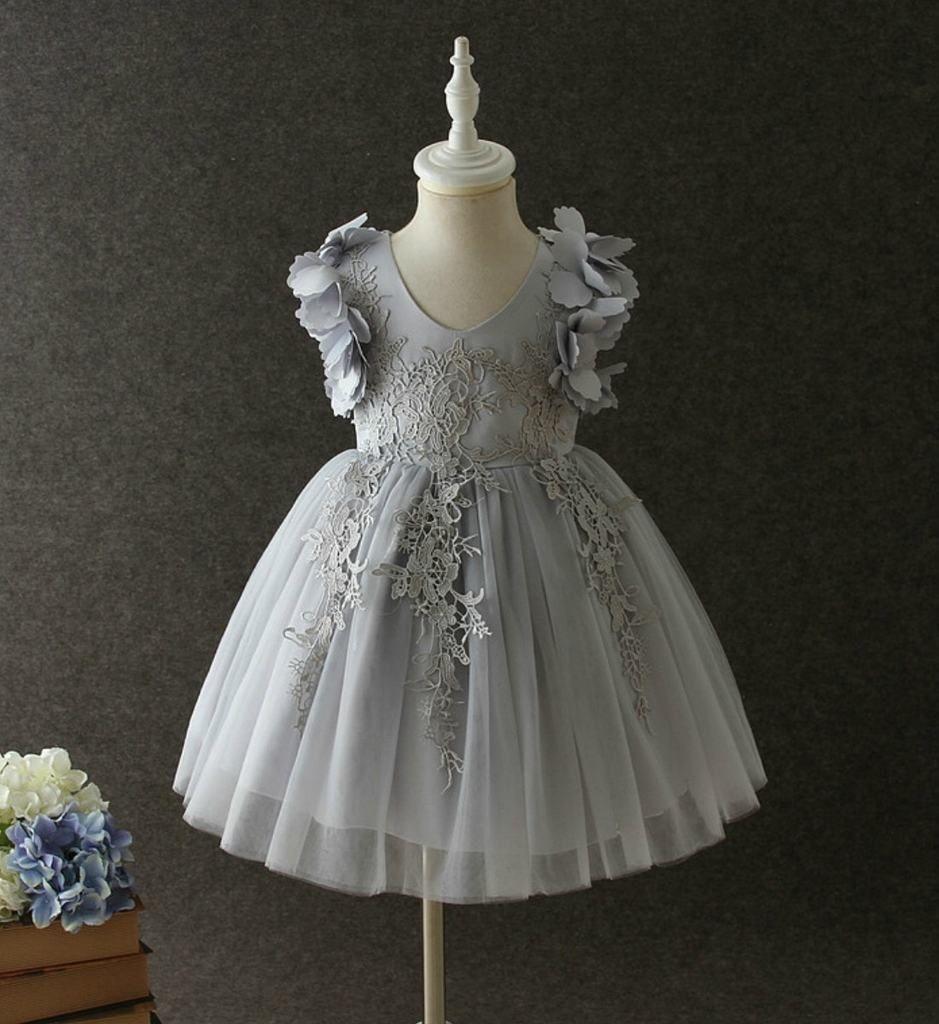 Big girl wedding dresses  Petal Flower Dress  Flower dresses Infant toddler and Lace dress