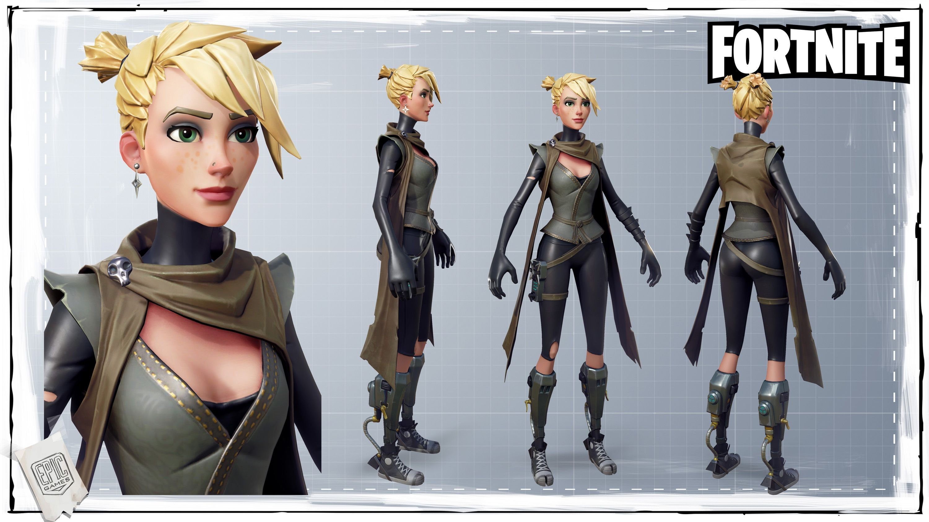 Fortnite Character Art Dump \u2014 polycount in 2019