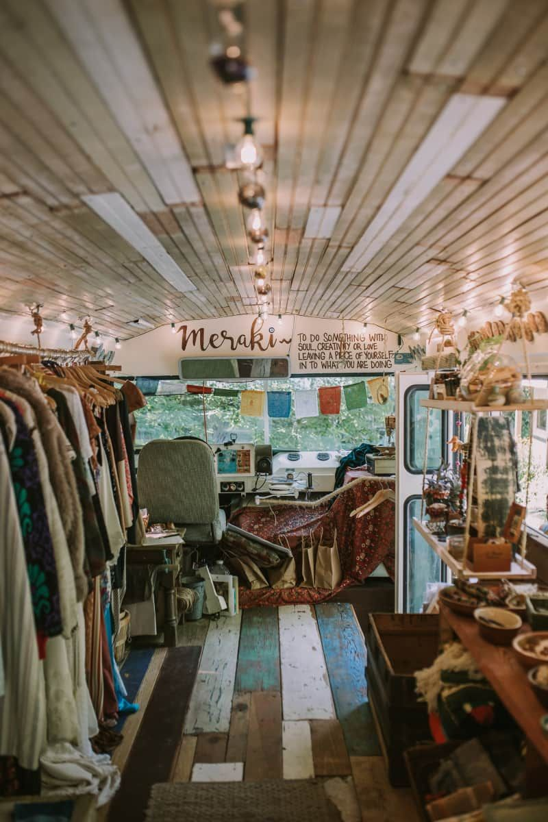 Perfect Bus For Backyard Airbnb Converted Bus For Sale