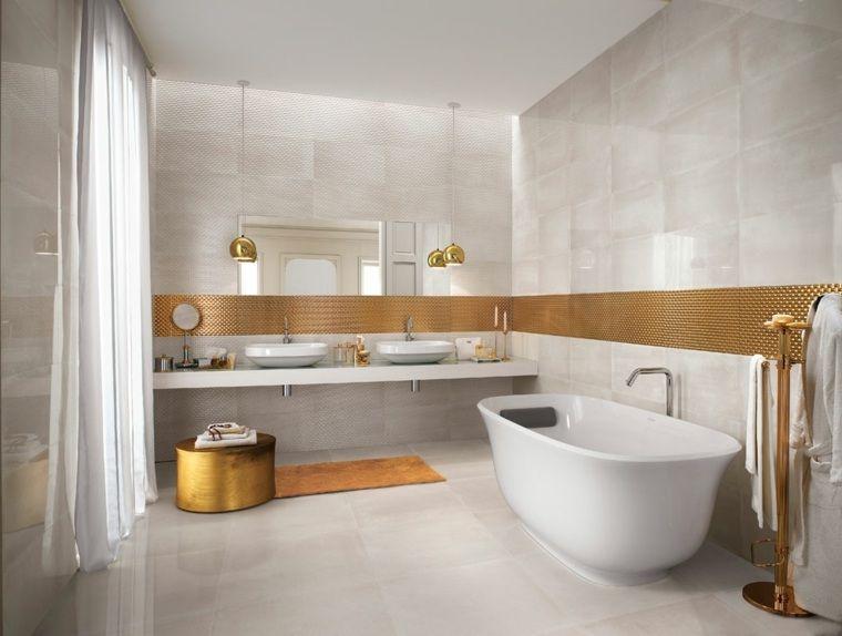 Idée carrelage salle de bain d\'inspiration design | Sanitaires et ...