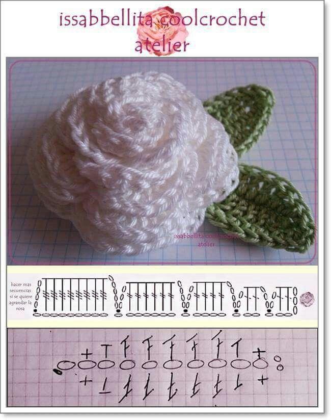 Pin de esther ortiz hernández en flores flamenca y más a crochet ...